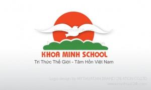 Thiết kế logo Khoa Minh School