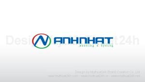 Thiết kế logo CTy Thời Trang ANH NHẬT