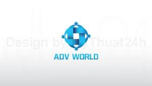 Thiết kế logo Công Ty cổ phần Thế Giới Quảng Cáo