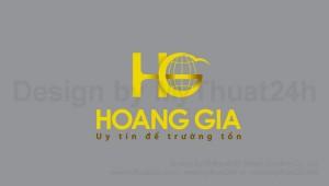 Thiết kế logo Hoàng Gia