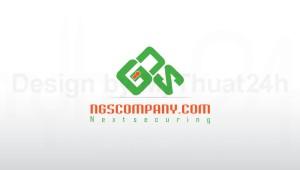 Thiết kế logo Công ty GIẢI PHÁP BẢO MẬT THẾ HỆ MỚI