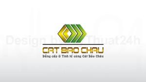 Thiết kế logo Cát Bảo Châu