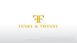 Thiết kế logo thời trang FENKY & TIFFANY