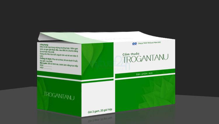 Thiết kế bao bì Cốm Trogantanu