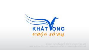 Thiết kế logo Khát Vọng Cuộc Sống