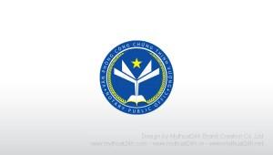 Thiet ke logo Van Phong Cong Chung Thinh Vuong