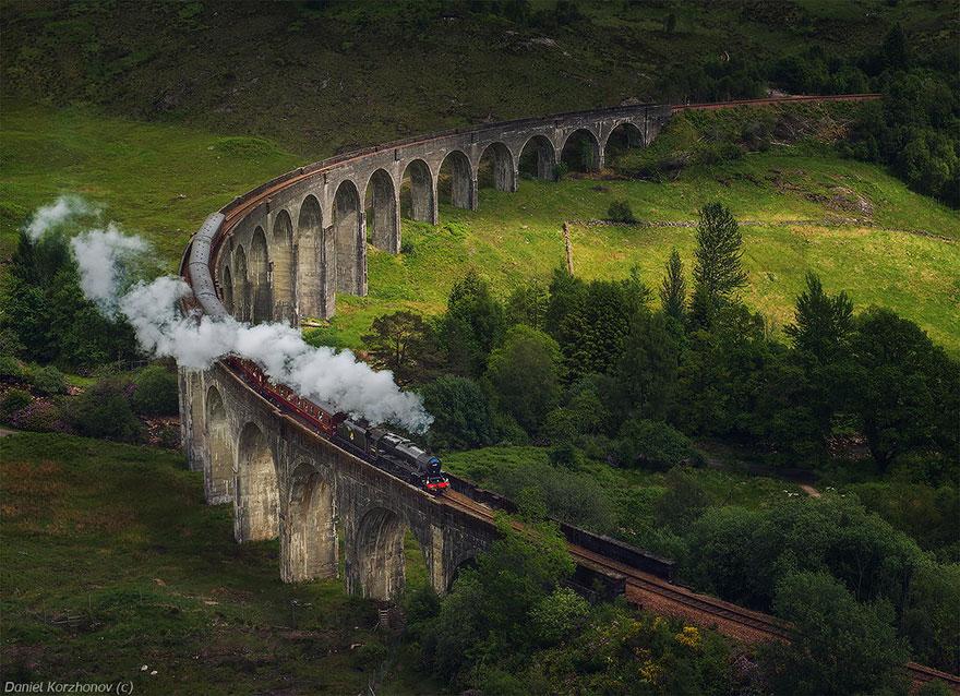 16 Glenfinnan Viaduct, Scotland