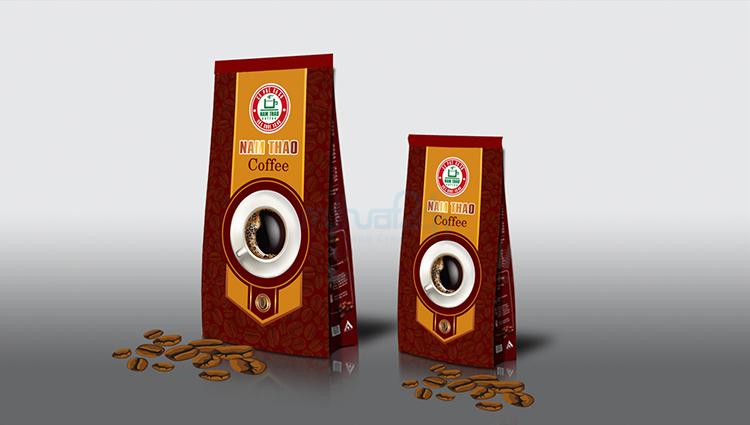 Thiết kế bao bì Nam Thảo Coffee